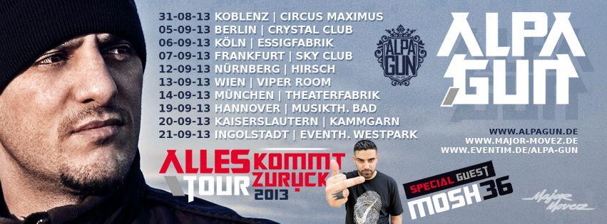 alpa gun akz tour 2013